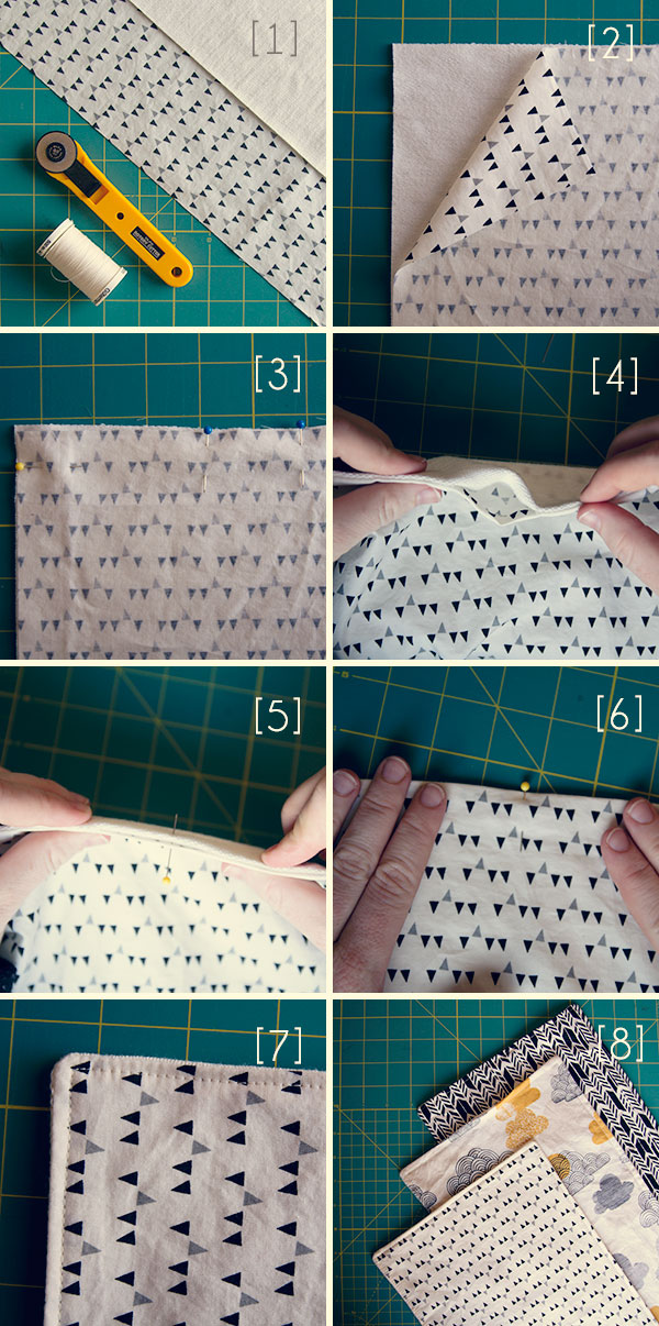 diy burp cloths
