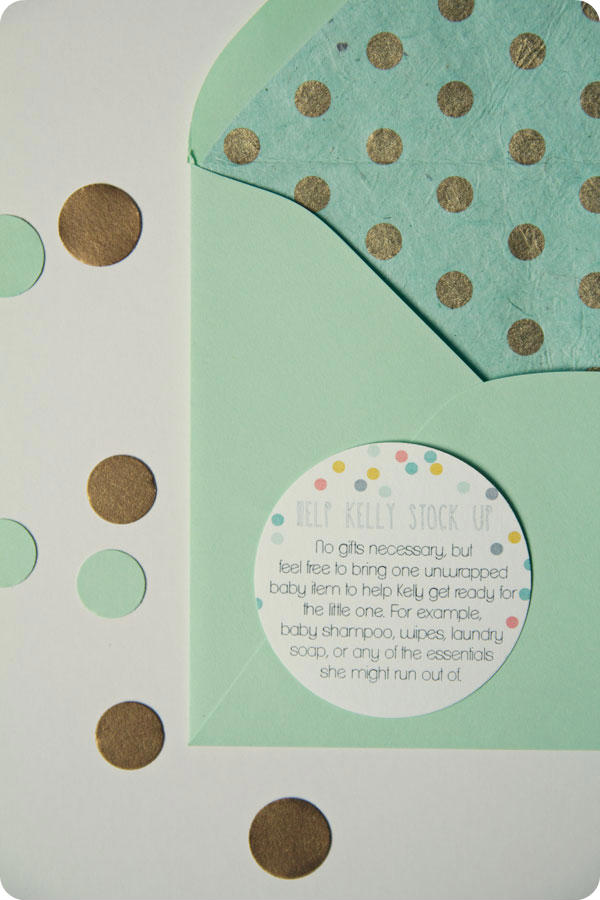 Printable Baby Shower Invitations - Baby sprinkle for second baby!