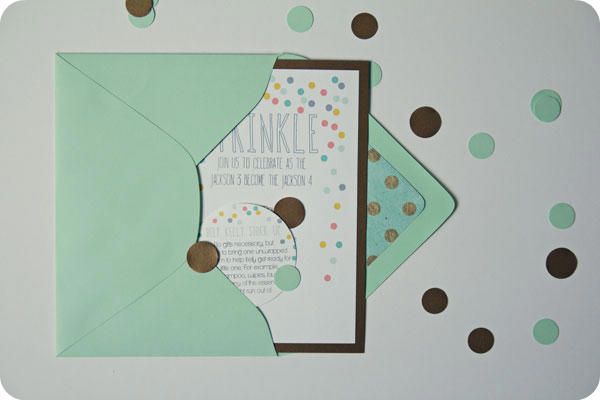 Printable Baby Shower Invite - Baby sprinkle for second baby!