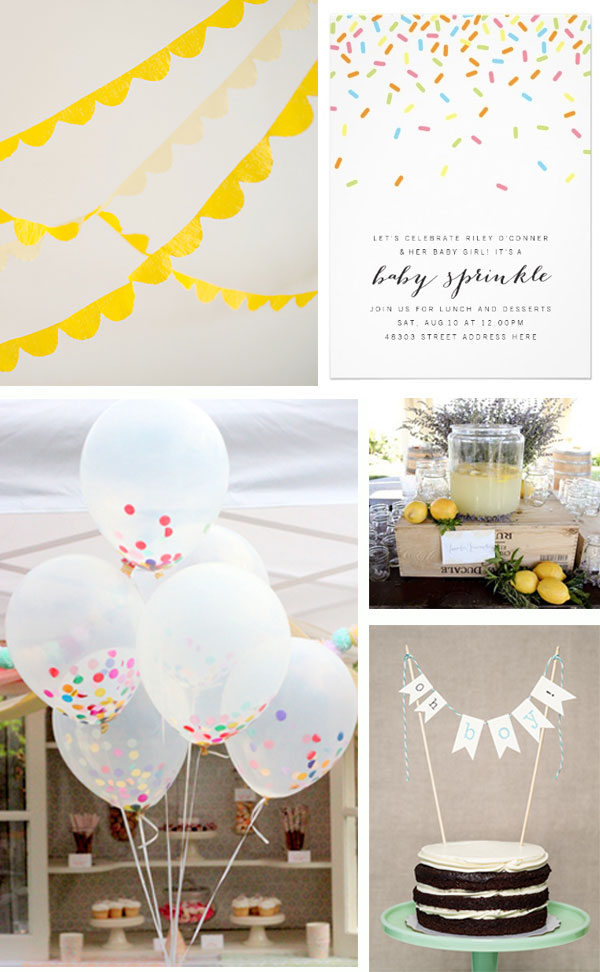 Baby Sprinkle - Party Inspiration