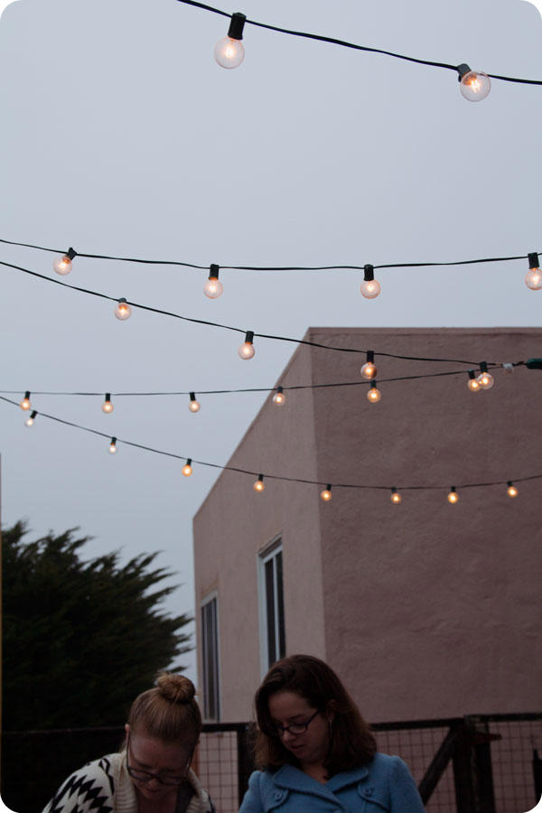 Oyster Party - Outdoor Lights